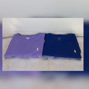2 polo shirts